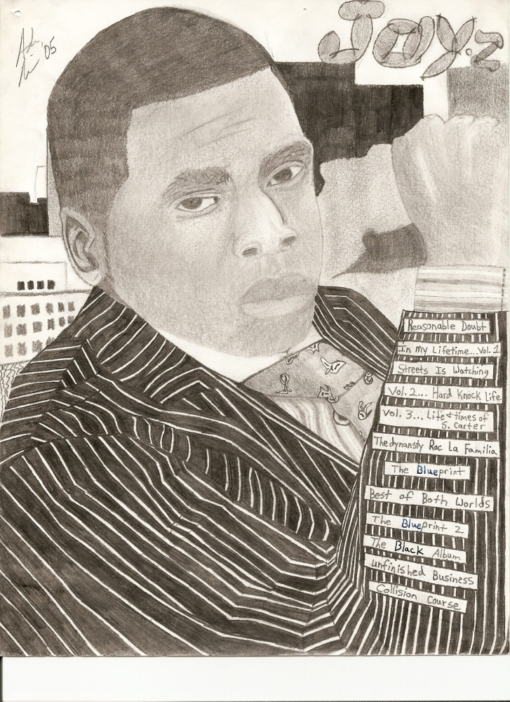 Past drawings 4: Jay-Z