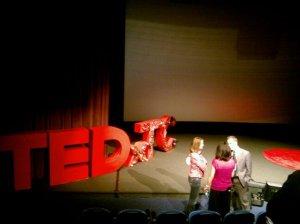 TEDxTC stage 2010