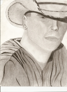 Kenny Chesney 'When The Sun Goes Down' album cover drawing